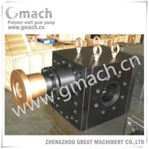 High Temperature Melt Gear Pump for Pet Sheet Plastic Extruder pictures & photos