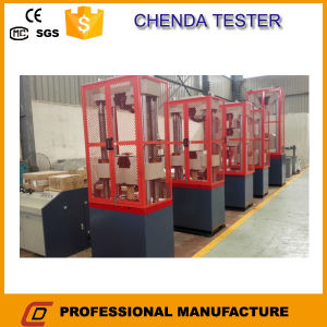 Wew Computer Display Hydraulic Universal Tensile Testing Machine