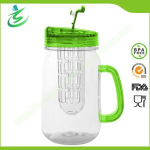 480ml Wholesale Mason Jar with Infuser and Handle (IB-A5) pictures & photos