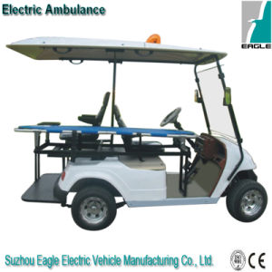 Electric Ambulance Car Made on Golf Cart pictures & photos