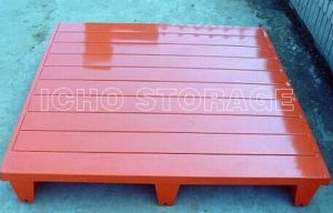 Customized Warehouse Storage Powder Coated Single Side Steel Metal Pallet pictures & photos
