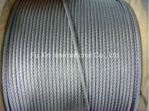 Carbon Steel Wire Galv. Wire Rope pictures & photos