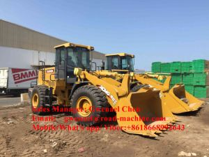 Zl50gn 5 Ton Wheel Loader 3m3 Bucket with Chinese Cat Shangchai Engine