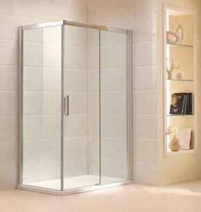 Simple Design Tempered Glass Shower Enclosure (B16) pictures & photos