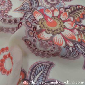 100d Water Printed Fabric Chiffon pictures & photos