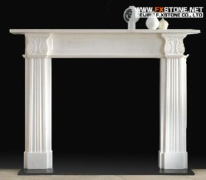 Marble Mantel pictures & photos