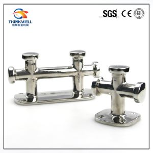 Marine Hardware Stainless Steel Single/Double Cross Boat Bollard pictures & photos