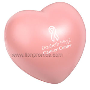 Hospital Premium PU Heart Stress Reliever Ball pictures & photos