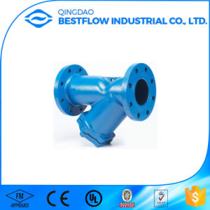 Full Opening Swing Check Valve Strainer with Cast Iron pictures & photos