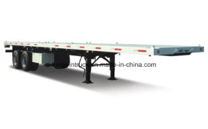 China Container Semi Trailer for 40FT, 20FT with Flatbed pictures & photos