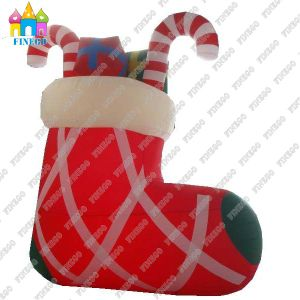 OEM Inflatable Christmas Sock Model for Christmas Holiday pictures & photos