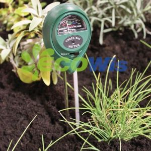 3 in 1 Soil Moisture Sunlight pH Meter Digital Tester pictures & photos