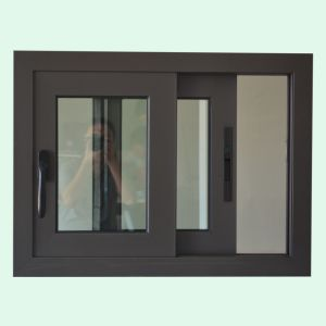 High Quality Double Glass Aluminum Sliding Window, Aluminum Window, Window K01176 pictures & photos