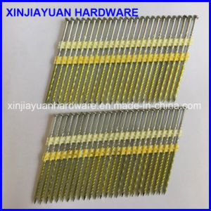 Hot Dipped Galvanized Plastic Strip Framing Nail 0.113′′x3′′ pictures & photos