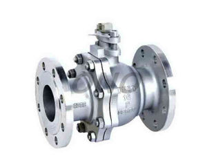 Metal Hard Sealing Stainless Steel Flange Ball Valve pictures & photos