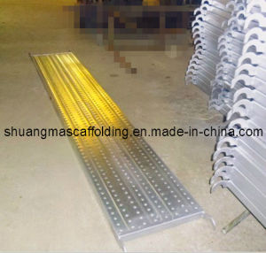 Scaffolding Steel Plank with Hook pictures & photos