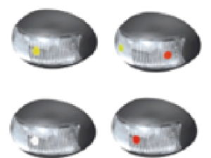 LED Side Marker Lights for Truck/Trailer pictures & photos