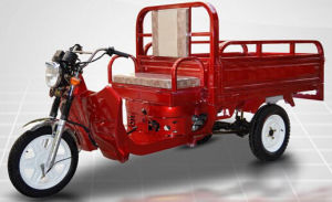 Gasoline-Electric Tricycle 1.5m Cargo 1000W/110cc pictures & photos