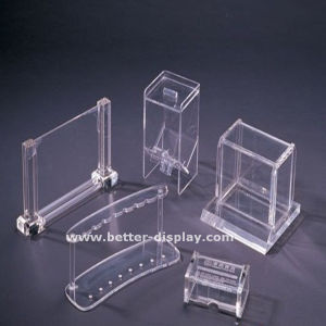 Custom Clear Acrylic Stationery Holder pictures & photos
