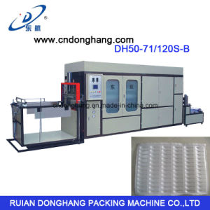High Quality Plastic Spoon Tray Vacuum Forming Machine pictures & photos
