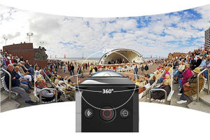 Hot Sale Black Mini Digital Camera 360 on Line pictures & photos