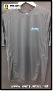 Advertisement T-Shirt Fabric (HKTJ078-1D)