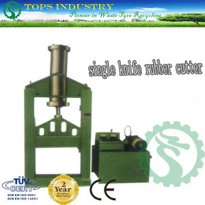 Single Knife Rubber Cutter pictures & photos