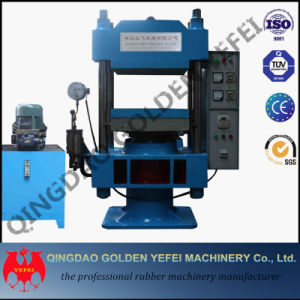 Single Station Rubber Silicone Plate Vulcanizing Press Machinery Xlb-Qd600*600 pictures & photos