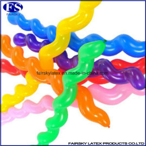 Best Quality Spiral Latex Balloon for Kids Toy pictures & photos