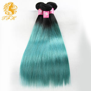 Brazilian Virgin Hair Two Tone Omber Hair Extensions Straight Ombre Hair Weaves Single Bundle Ombre Human Hair Bundles pictures & photos