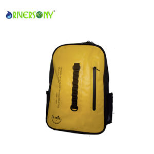 PVC Waterproof Yellow Backpack Bags pictures & photos