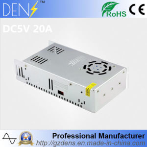 Constant Voltage LED 5V 20A 100W Switching Power Supply pictures & photos