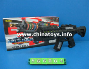 New Power Game B/O Gun with Flsahlight (866004) pictures & photos