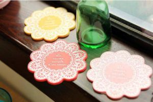 Promotional Gift Cup Coaster, Silicone Cup Mat pictures & photos