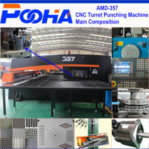 Amada AMD-357 Hydraulic CNC Turret Punching Press Machine 3/4 Axis Punch Machine pictures & photos