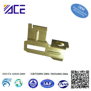 1.5mm Thickness Brass Stamped Sheet Metal Parts pictures & photos