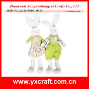 Easter Decoration (ZY13L879-1-2 68CM) Easter Plush Rabbit pictures & photos
