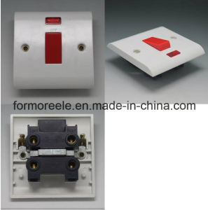 C9 45A250V Switch with Neon Bakelite White LED Light Wall Switch pictures & photos
