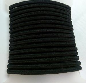 Metal Free Black Elastic Hair Bands (BLH20148166) pictures & photos