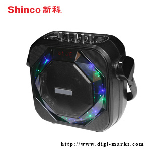 6.5 Inch Chargeable Plastic Active Bluetooth Karaoke Speaker pictures & photos