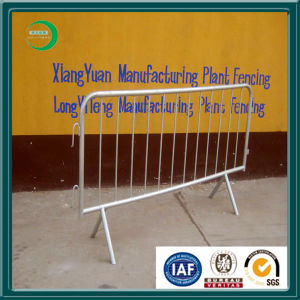 Galvanized Temporary Crowd Control Barrier for Road Safety pictures & photos