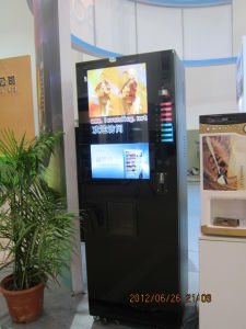 Hot/Cold Drink Touch Screen Instant Coffee Vending Machine Cup Counting LF-306D-32G pictures & photos