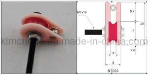 Caged Ceramic Pulley (20*8*M2) Wire Guide Tensioner Control pictures & photos