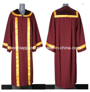 Graduation Gowns for Master/Bachelors/Doctorate/Chancellor (B006) pictures & photos