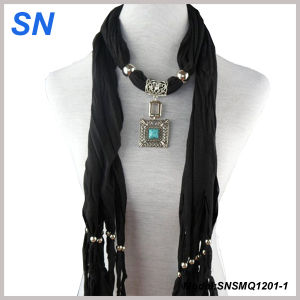 2014 Fashion Pendant Jewelery Scarves (SN1201-1) pictures & photos