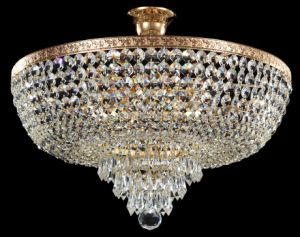 Crystal Ceiling Lamp (CL 5272/5 FGD+WT) pictures & photos