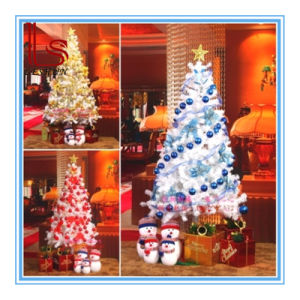 Wholesale Christmas Decoration 120cm /150cm/ 180 Cm Encryption White Snow 180cm Christmas Tree with Variou Accessories and LED Light pictures & photos