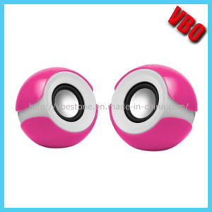 High Quality 3.5mm Portable Mini Speaker for PC (SP-804) pictures & photos