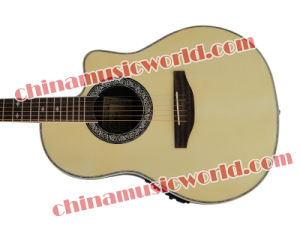 Hot! Super Roundback Carbon Fiber Back & Side Acoustic Guitar (ANT-125) pictures & photos