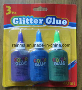 40ml Color Glitter Glue for Stationery Supply pictures & photos